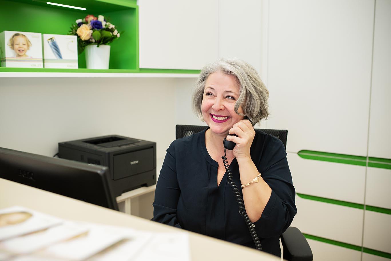 Mitarbeiterin (c) Miriam Raneburger